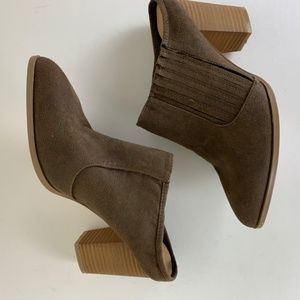Hippie Laundry Maxie Brown Suede Mule Sz 7 NWOT